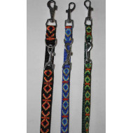 Two-colored nylon leash