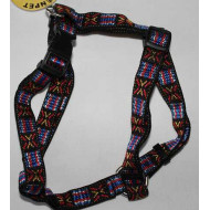 Postroj pletený vyšívaných 2x35-50cm
