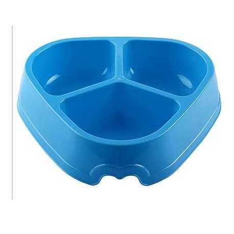 Plastová miska trojitá 30x22x6,5cm/1,8l