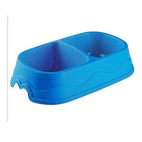 Plastová miska dvojitá 1,5l