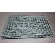 Metal cage on wheels 82x62x75cm