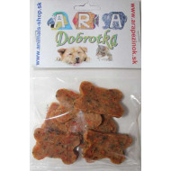 Cubes of chicken and vegetables 10pcs