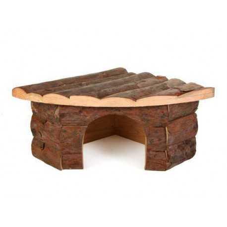 Dřevěný domeček Corner 42x15x30cm