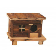 Wooden house Andy 18x13x13,5cm