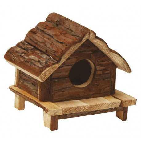 Wooden house Love Hut 15x15x15cm
