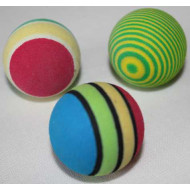 Rainbow foam ball 3,5cm