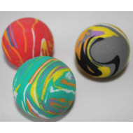 Rainbow foam ball 4,5cm