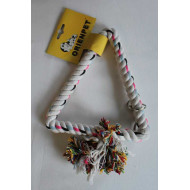 Toy rope white 22x22x18cm
