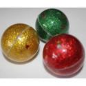 Shimmering plastic ball 4.5 cm
