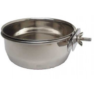 Stainless steel bowl with handle 0.15 l
