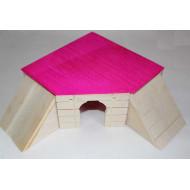 House folding 14,5x14,5x6,6cm