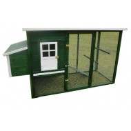Chicken coop for chickens 233x90x130cm