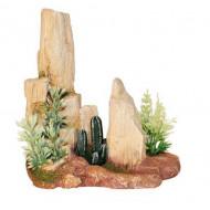 Kámen s kaktusem S