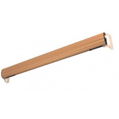 Bracket for single tube lighting