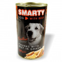 Smarty can for 1240g beef dog