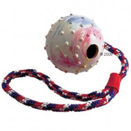 Ball with cord 6cm