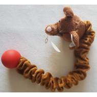 Natahovací plyšový pes 30-50cm