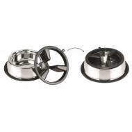 Anti-slip stainless steel bowl 2in1 27cm