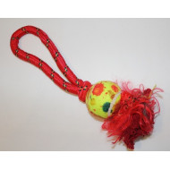 Ball with twine