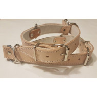 Business retractable leather collar