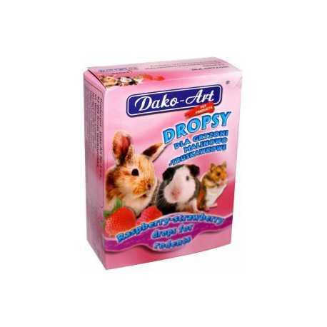 DAKO - ART Drops for raspberry-strawberry rodents 75g