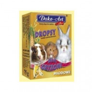 DAKO - ART Drops for honey rodents 75g