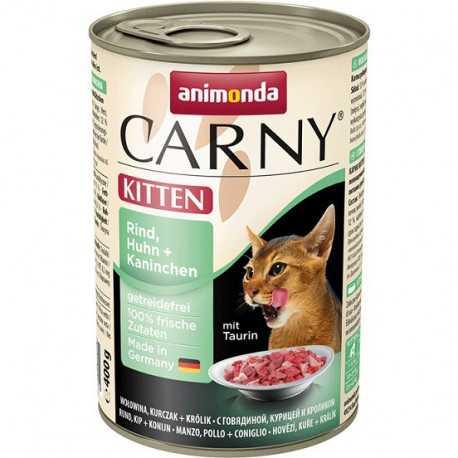Animonda Carny Kitten chicken + rabbit 400g