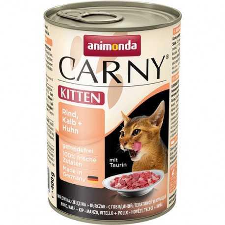Animonda Carny Kitten beef , Calf + Chicken 400g