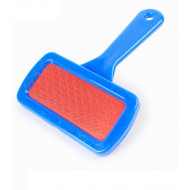 Plastic brush 9x5x13,5cm