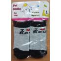 Ponožky L 3,5x9cm