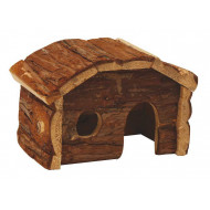 Wooden house Cottage 20x11x14cm