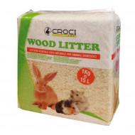 Wood Litter Shavings 1kg/15l