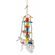 Rope toy for parrots 30x10cm