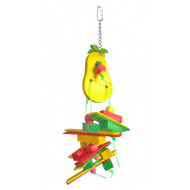 Rope toy for parrots 27x12cm