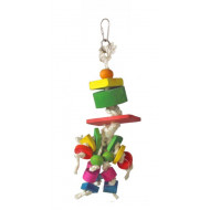Rope toy for parrots 25x7cm
