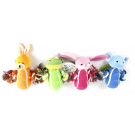 Plush animals with knots 19cm