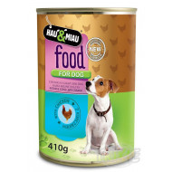 HM chicken meat in juice for dogs 400 g