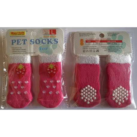 Socks Strawberry - S, M, L, XL