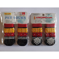 Socks Red-yellow- S, L