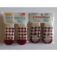 Socks Bordeaux- L