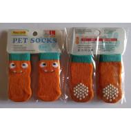 Ponožky Oranžové- L