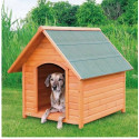 Wooden shed for dog XL