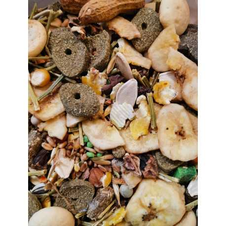 Food for small rodents DELUX 600 g