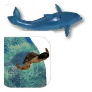Magnetic decoration dolphin