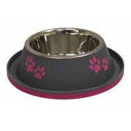 Stainless steel bowl Gray