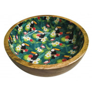 Toucan wooden bowl 830ml