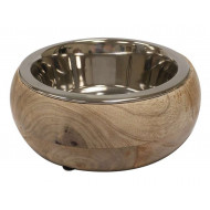 Stainless steel / wood bowl Gryfino