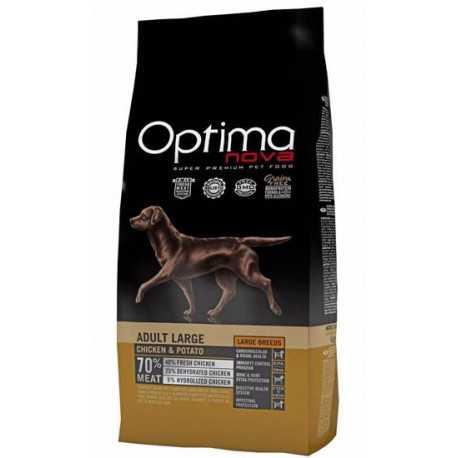 OPTIMAnova Dog Adult Large Chicken & Rice GF 12 kg