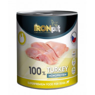 IRONpet Turkey 100% Monoprotein 800g