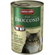 ANIMONDA BROCCONIS game and poultry 400 g